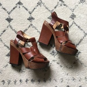 Robert Clergerie wedges - size 7
